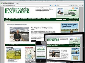 Responsive Design - Adirondack Explorer